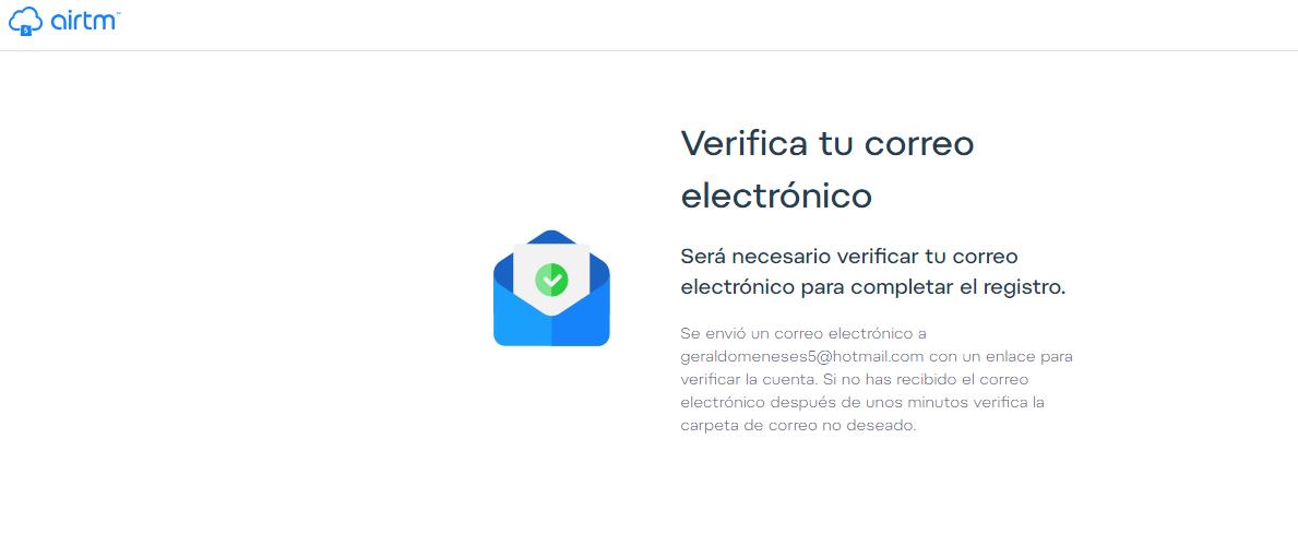 La verificación de datos es muy importante dentro de Airtm.