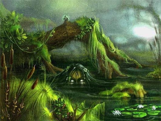 легенда о Водяном — владыке вод