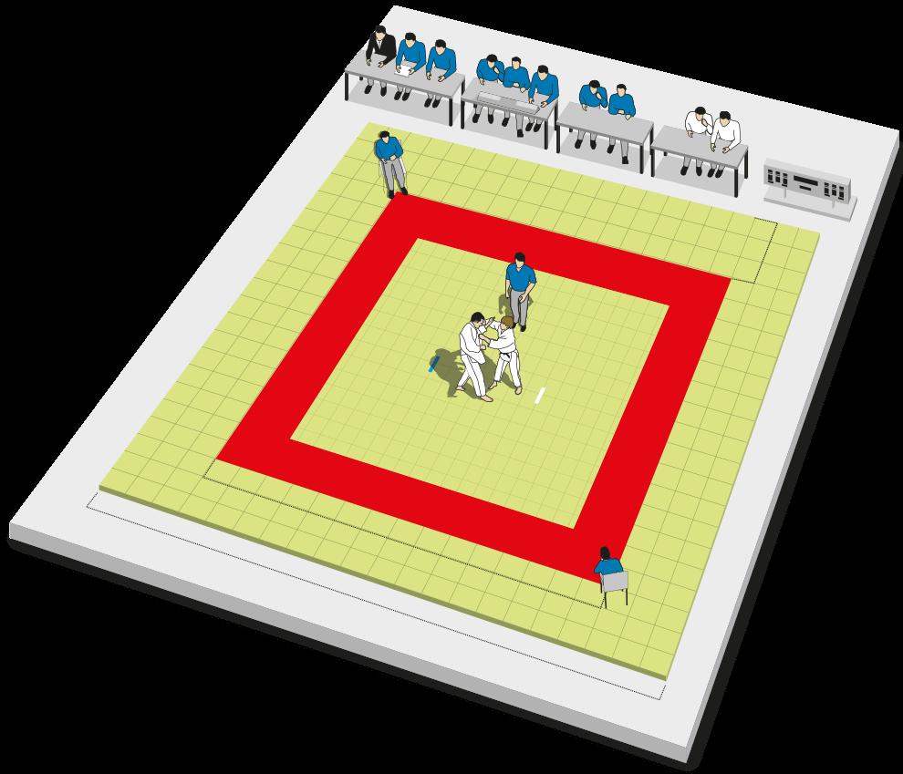 Resultado de imagen de tatami judo medidas
