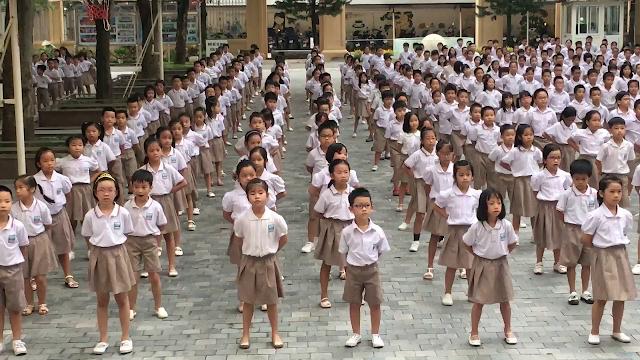 Thiết kế đồng phục trường Nguyễn Siêu số lượng lớn