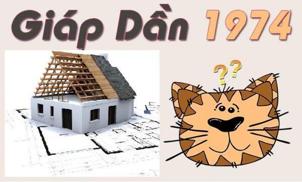 Gia chủ tuổi Giáp Dần 1974 làm nhà năm 2019 có nên không?