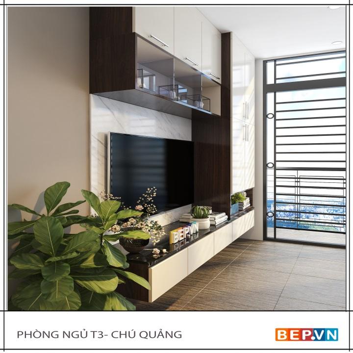 Kệ tivi Acrylic trong thiết kế nội thất