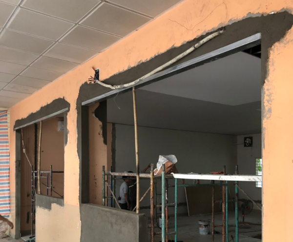 Những công trình xây dựng cũ cũng hoàn toàn có thể được khắc phục
