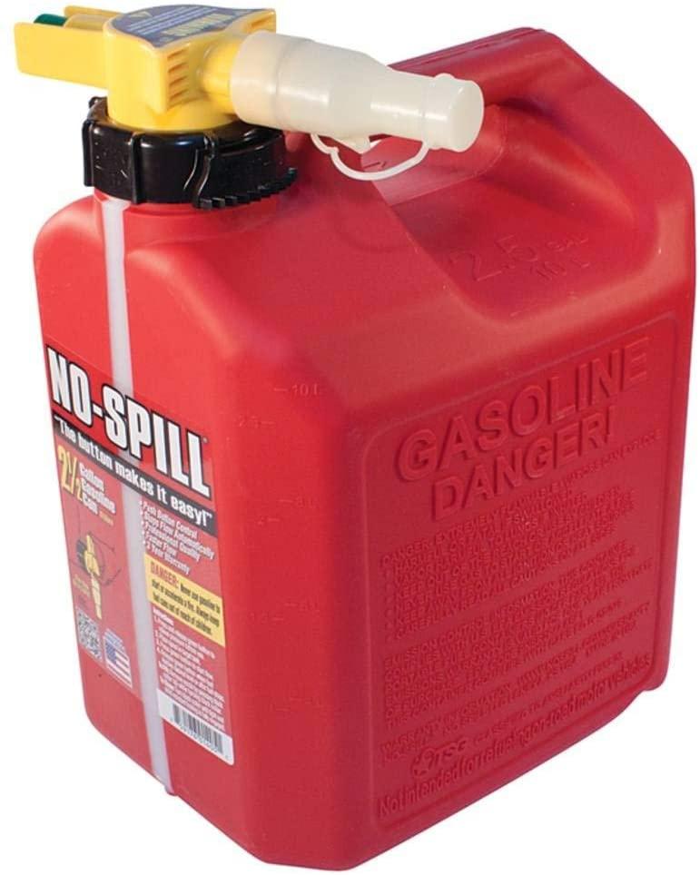 A spare gas can is a good idea.