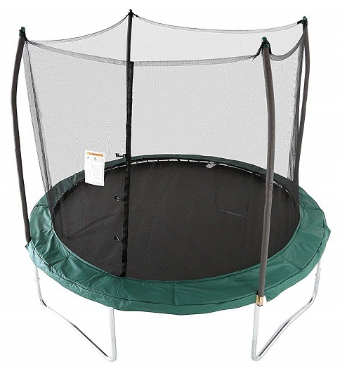 #4. Skywalker 10Ft Round Trampoline