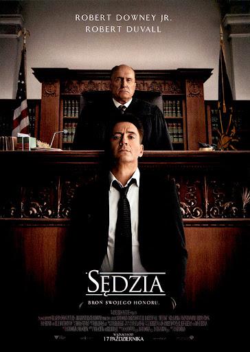 Przód ulotki filmu 'Sędzia'