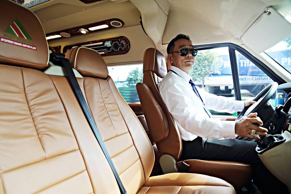 Xe Huy Hoàng Limousine đi Vũng Tàu với đội ngũ tài xế chuyên nghiệp