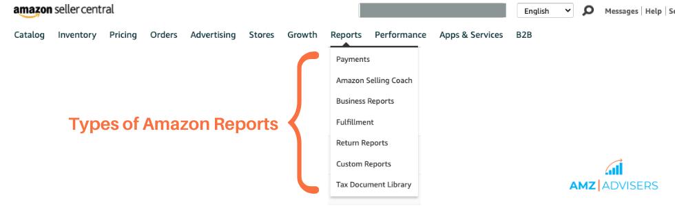 types_of_amazon_reports