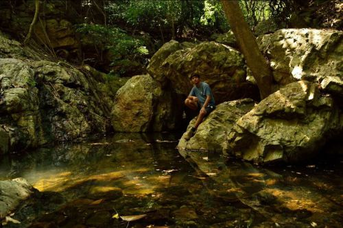 water stream on Nagala east trek