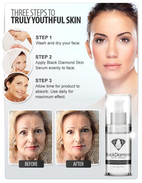 black diamond skin serum does it work