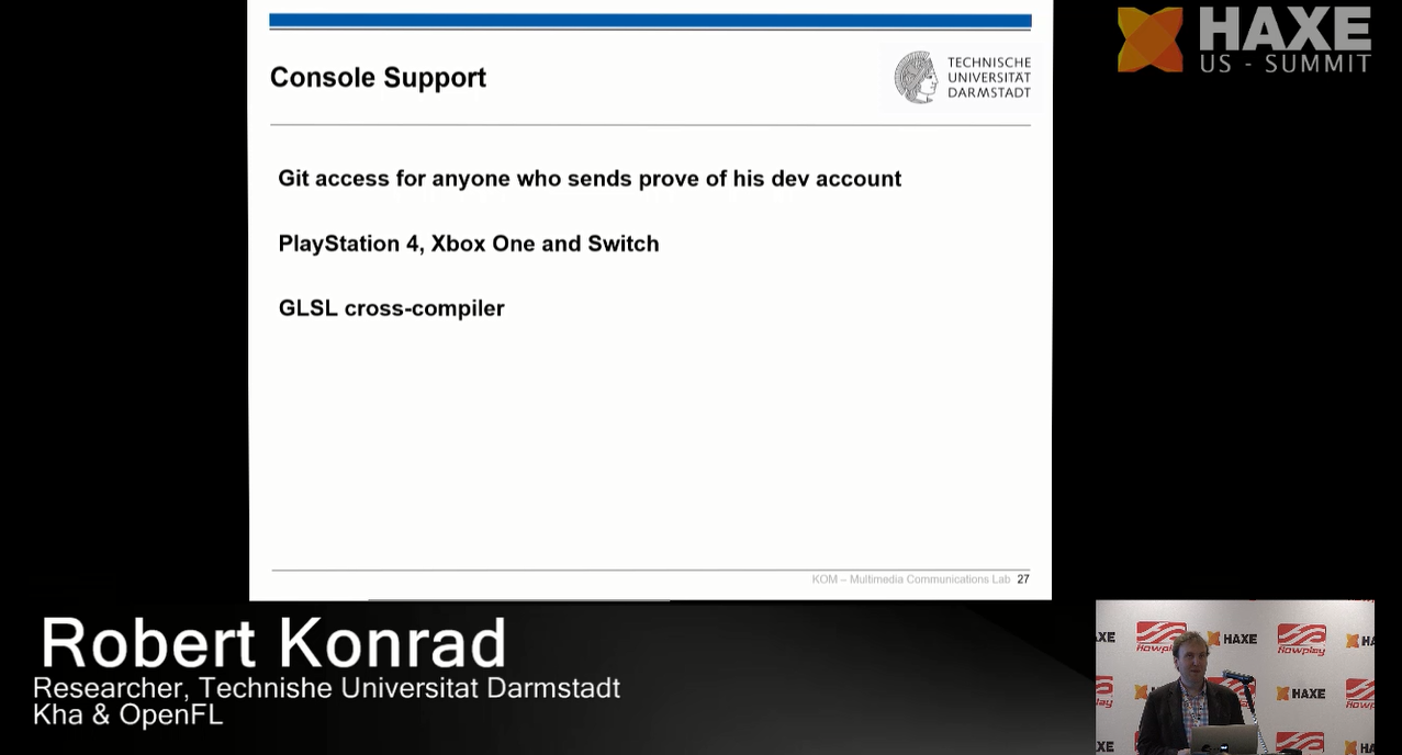 Console support