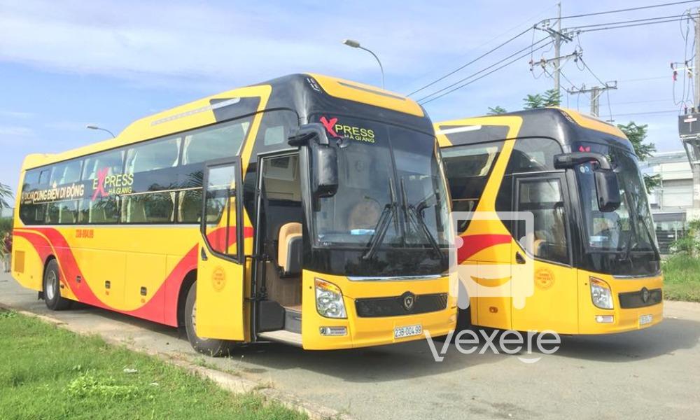 Xe đi Hà Giang chất lượng cao: Express Hà Giang