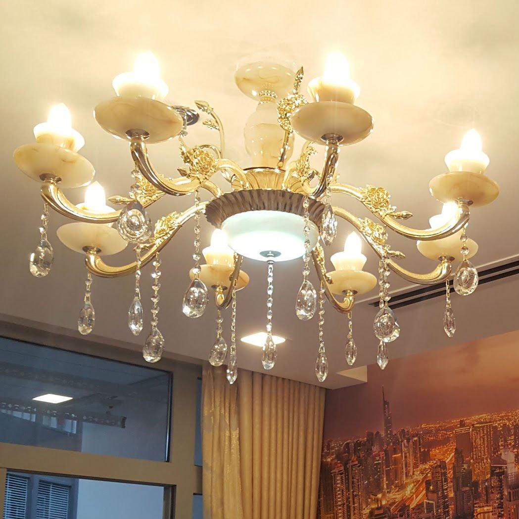 Đèn chùm mang một ý nghĩa phong thủy tuyệt vời cho gia đình bạn