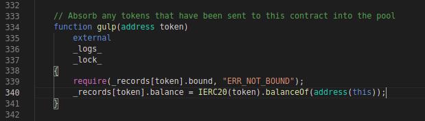 Balancer CodeBlock: gulp function