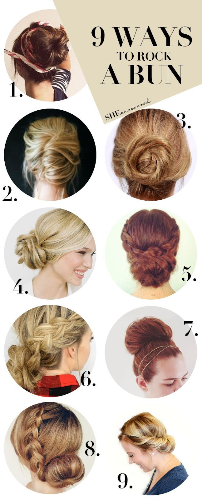 how to make your bun look bigger without a sock