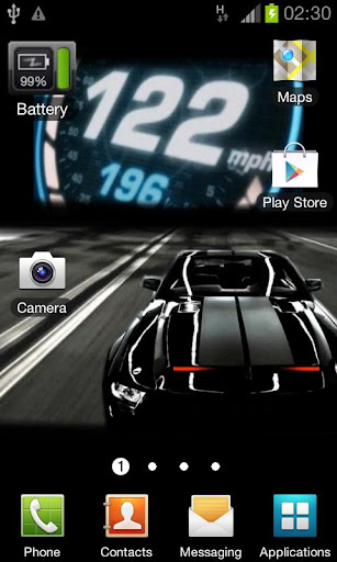 Revision Knight Rider 2008 LWP apk Download | Apk Zone Download