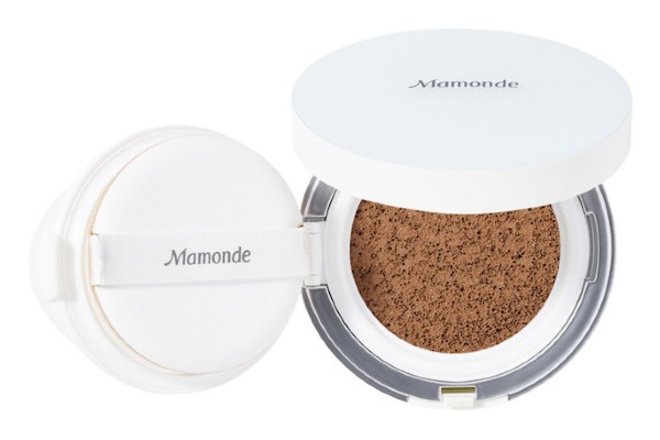 Mamonde Brightening Cover Watery Cushion Foundation SPF 50 in Cocoa from ULTA