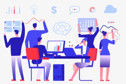 Teams working on visual collaboration tools.