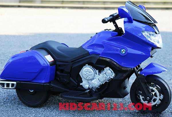 Moto điện trẻ em CX6066 xanh dương