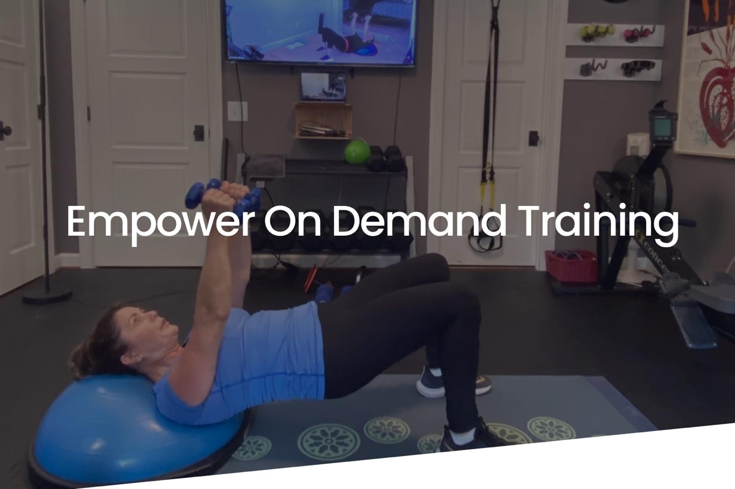 A picture containing person, sport, exercise device  Description automatically generated