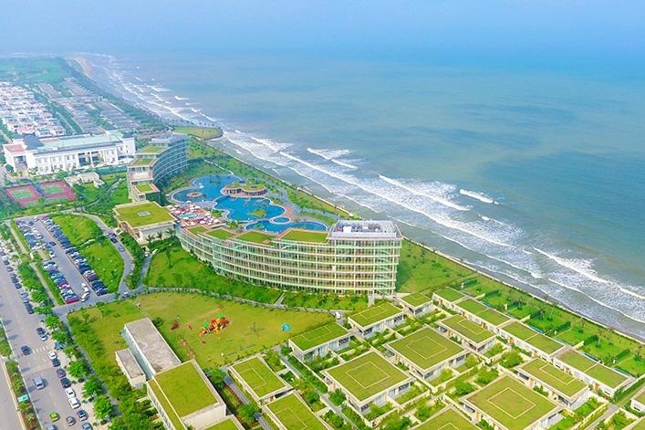 FLC Luxury Hotel Sầm Sơn từ trên cao