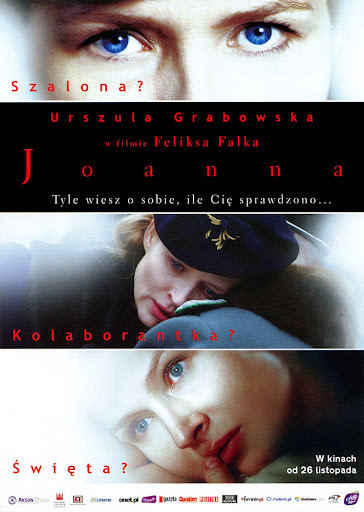 Przód ulotki filmu 'Joanna'