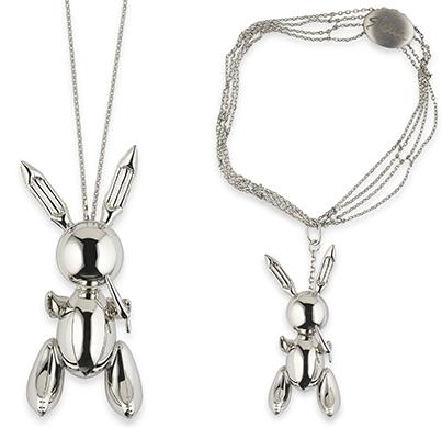Rabbit – Stella McCartney Necklace Pendant by Jeff Koons (2005-2009)