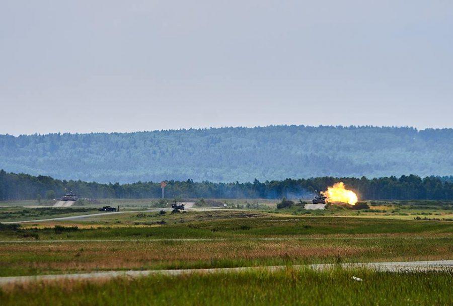 Т-84 - танковий взвод в обороні _