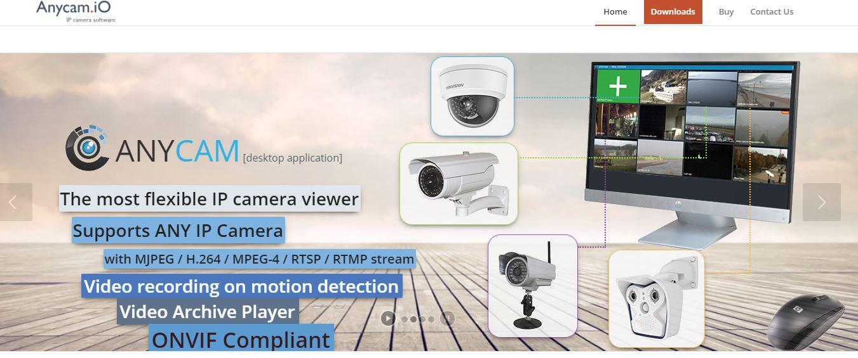 AnyCam IP Camera Software