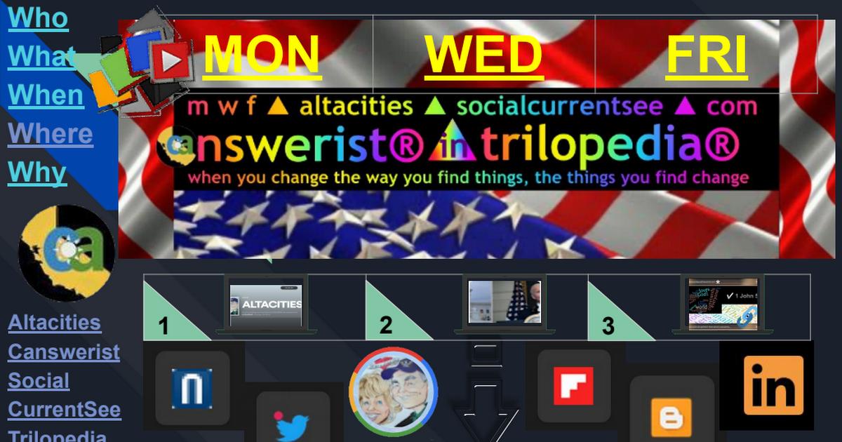 FLIP① ▶ Right Now In Left Coast ▶ Blogs ▶ TriloGI ▶ 4.5.21