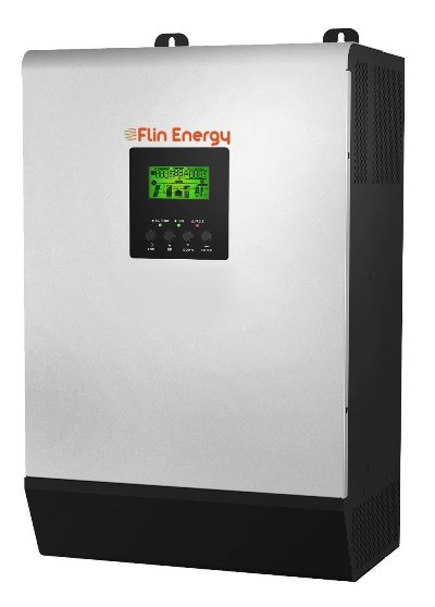 Flin Energy Flinslim Dual MPPT 5KVA-48V Hybrid Best Solar Inverter In India