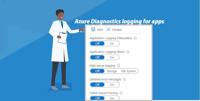 Enable diagnostics logging for apps in Azure App Service