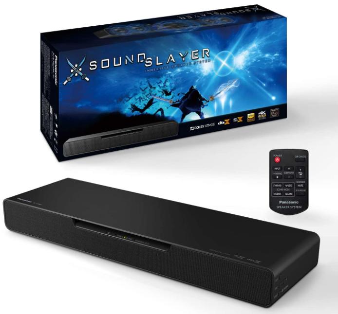 Panasonic Soundslayer Gaming Soundbar