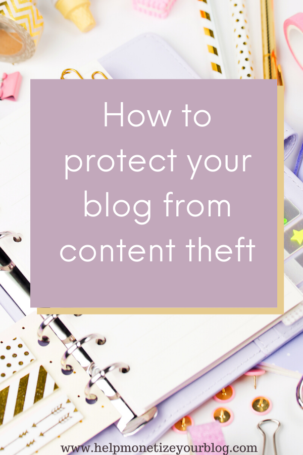 How to protect your blog from content theft. If you are keen on SEO, stopping people from copying your blog posts and other content should be at the top of your list. This post will show you how to prevent content thieves from stealing your blog posts and other content.