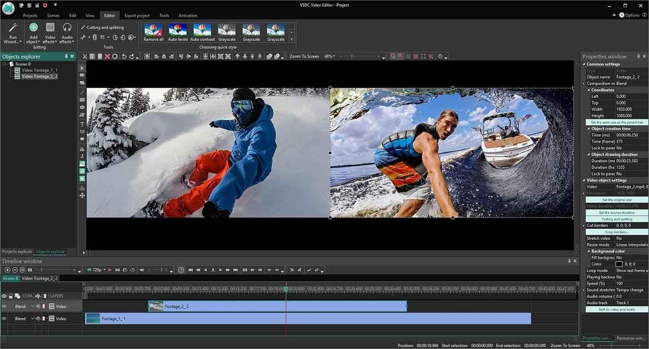 VSDC Free Video Editor (Video Editing Software with No Watermark)