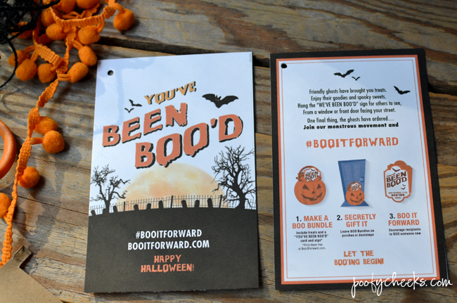 Halloween Mummy BOO Kit Tutorial and Printables