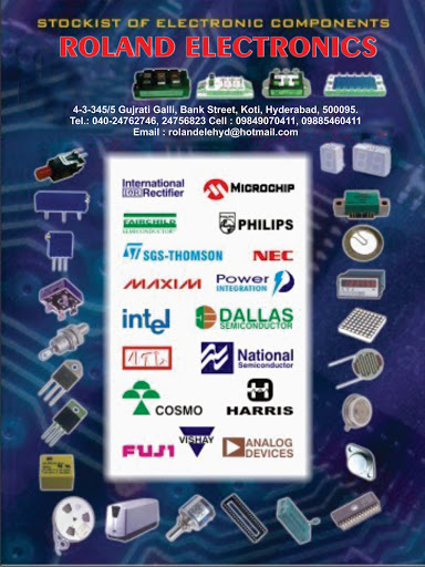 Roland Electronics - Electronic Components,IOT, Robotic Spares