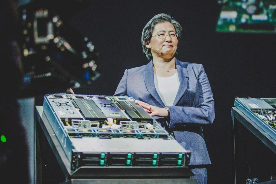 AMD EPYC announcement from CEO Lisa Su