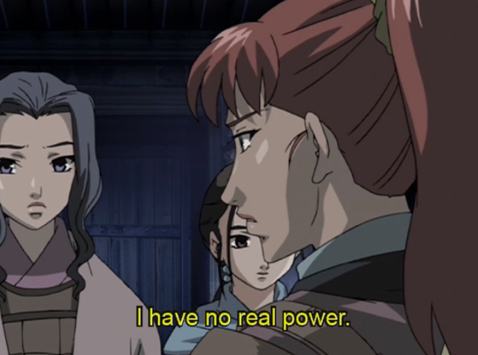 "Youko tells Suzu and Shoukei: ""I have no real power."""