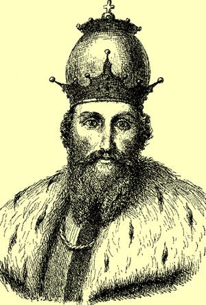князь Данило Галицький портрет