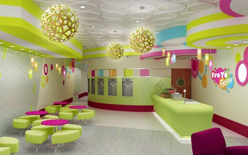 Оборудование и мебель для кафе-мороженого