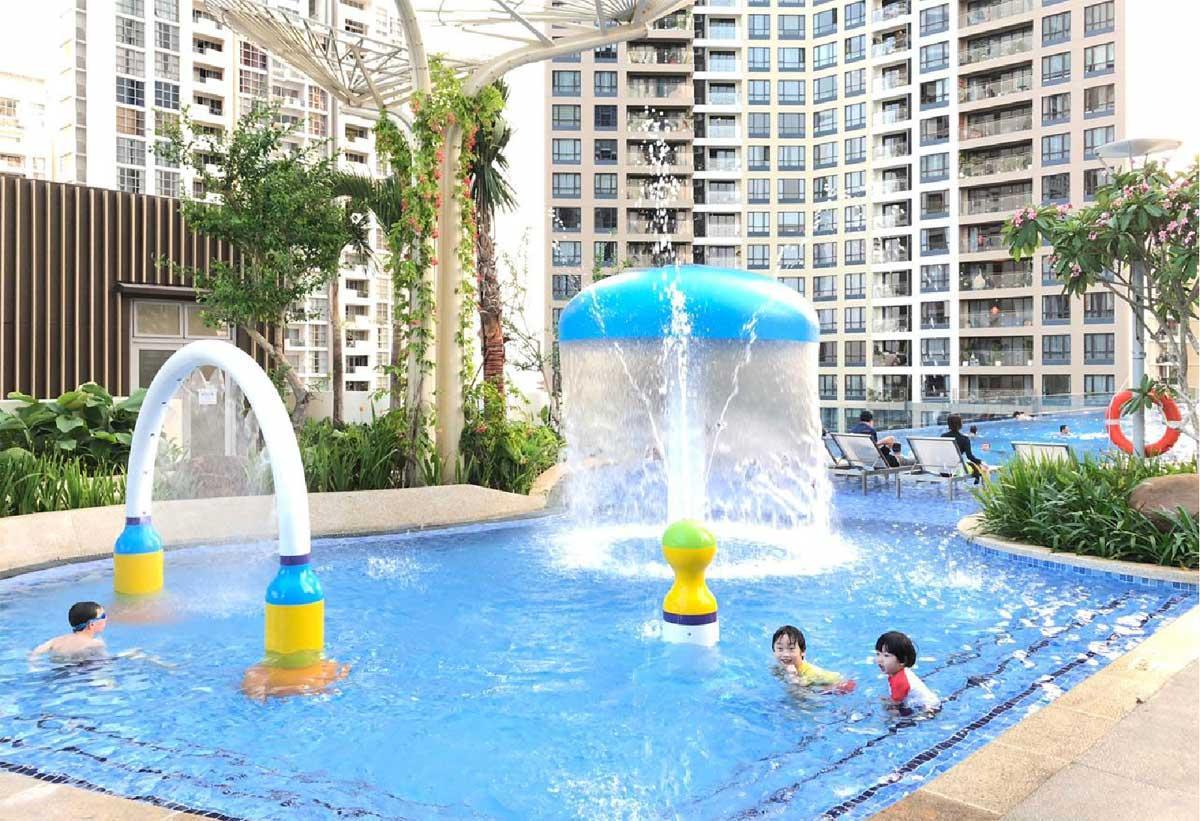 Sự cuốn hút căn hộ  D Aqua