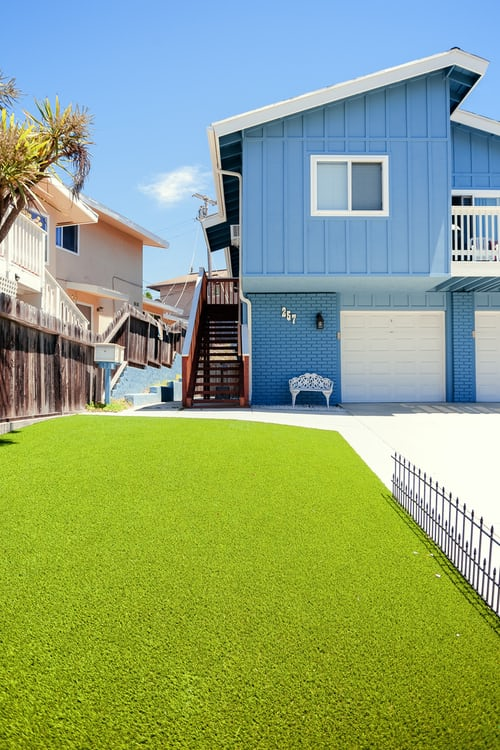 artificial grass for outdoor flooring project