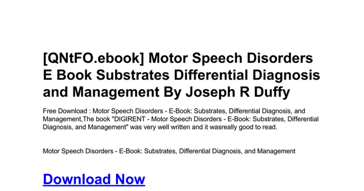 motor-speech-disorders-e-book-substrates-differential-diagnosis-and-management.doc - Google Docs