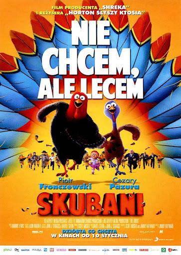 Przód ulotki filmu 'Skubani'