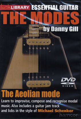 Lick Library Learn ROCK GUITAR IN 6 WEEKS With Danny Gill 6 Video Lesson DVDs