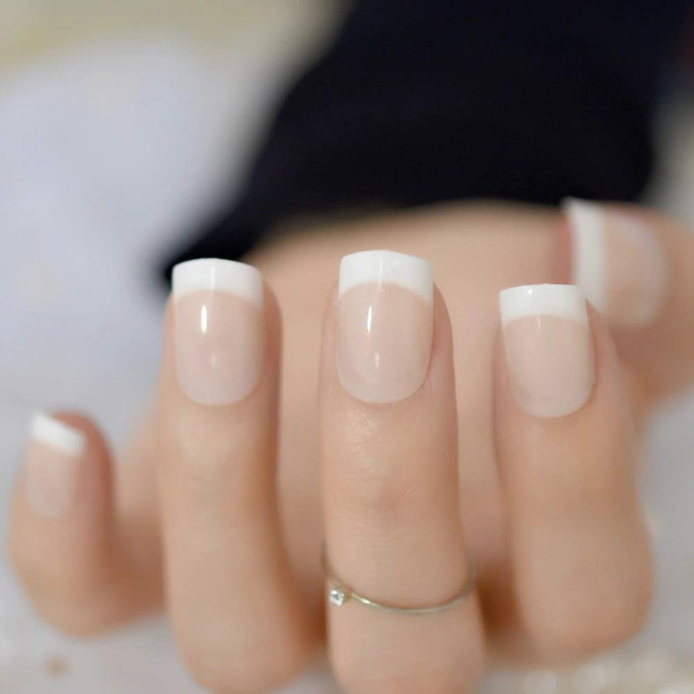 French manicure with a twist