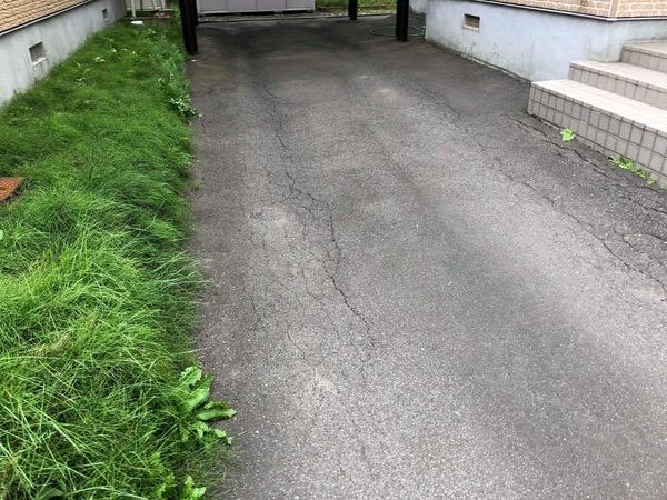 【北海道】「アスファルト以外の舗装材を探していた」《北海道の舗装といえばアスファルト》という常識・タケザワウォール