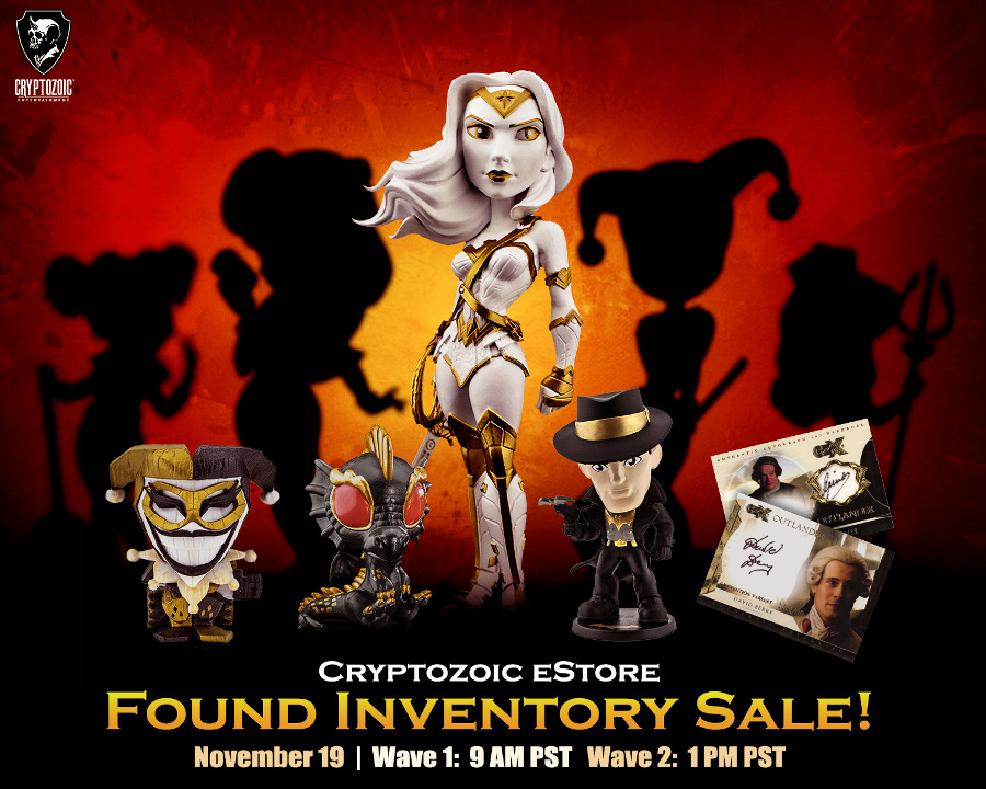 Cryptozoic Found Inventory Sale (November 2019)
