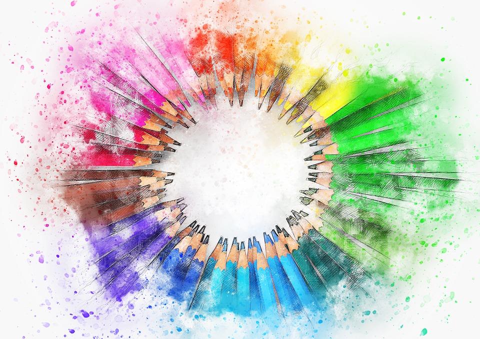 Watercolor Pencil Art For Kids